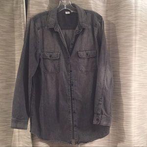 BP grey denim shirt